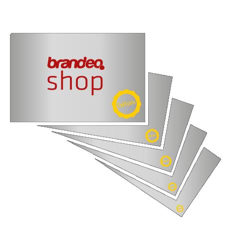 Visitenkarte Exklusiv Brandeo Druck Messesysteme München