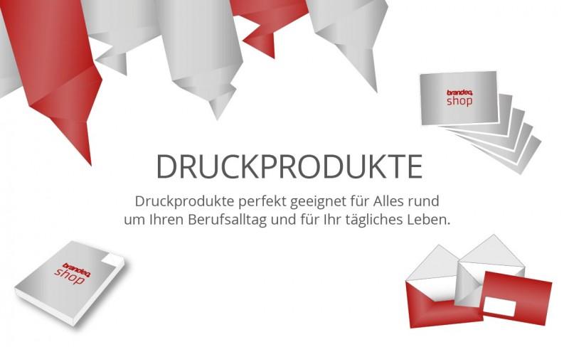 Druckprodukte Brandeo Druck Messesysteme München